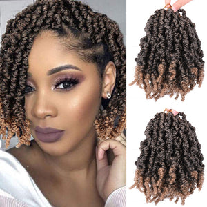 10 inch Pre-twisted Spring Twist Hair Passion