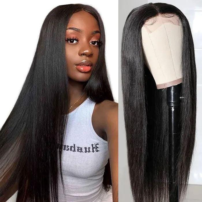 Straight Full Lace Human Hair Wig 180 Density Demyhair