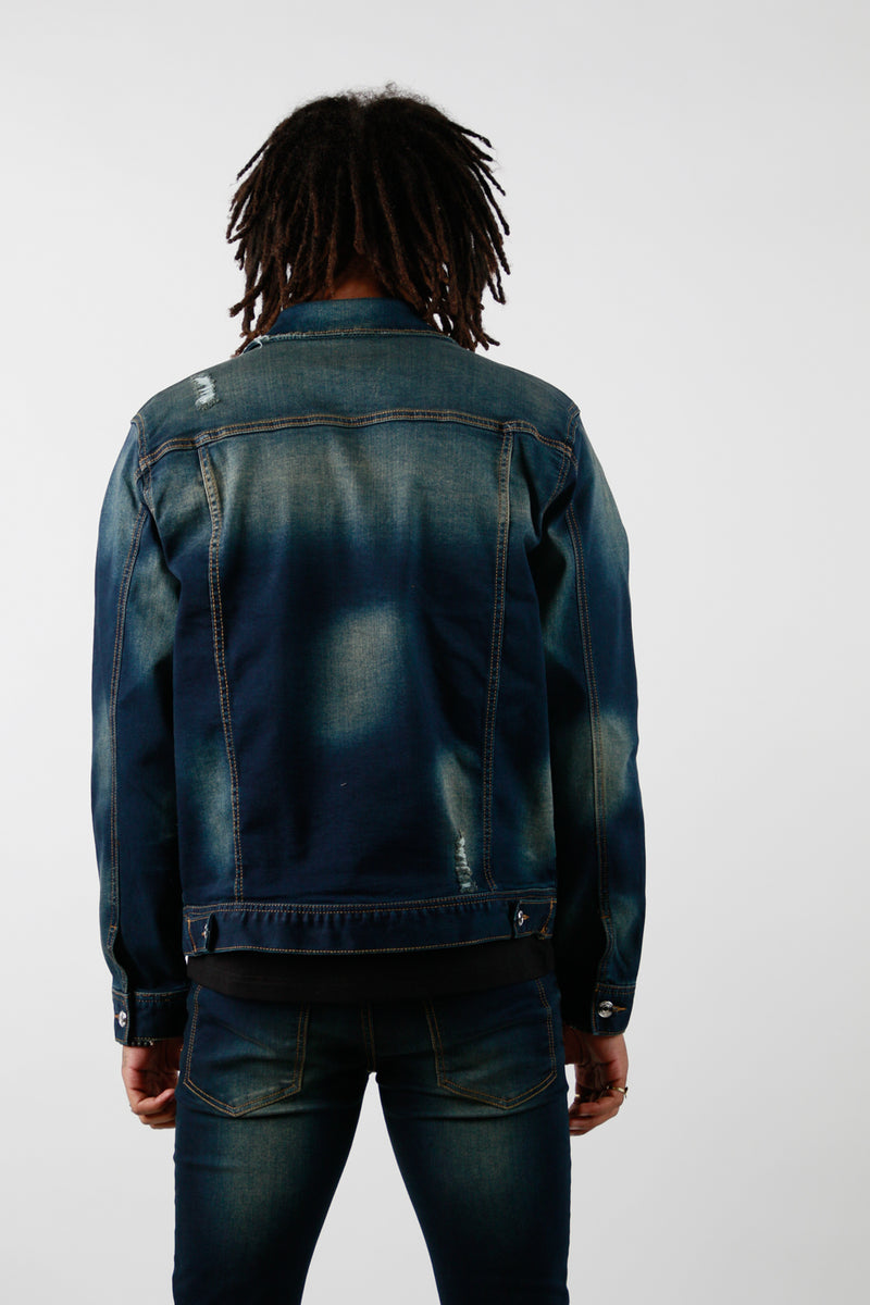 VISION DENIM JACKET DARK