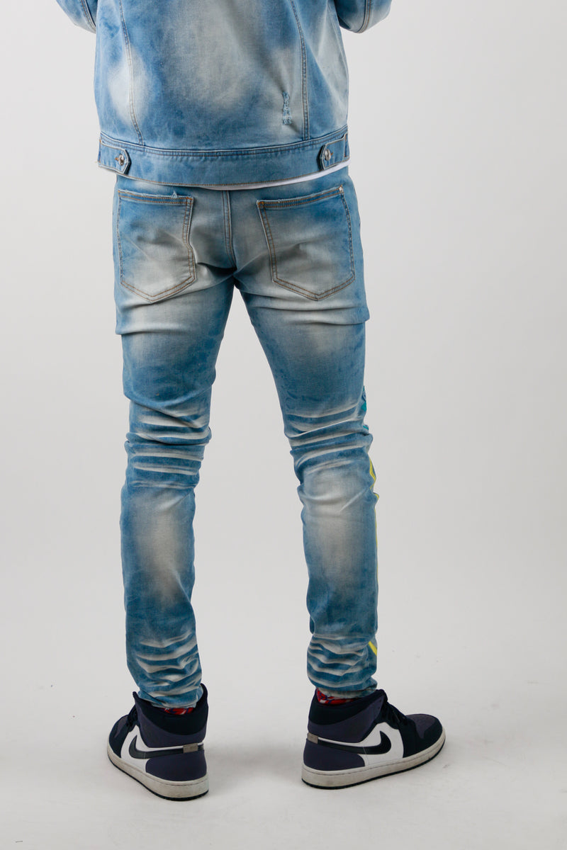 VISION DENIM PANT LIGHT