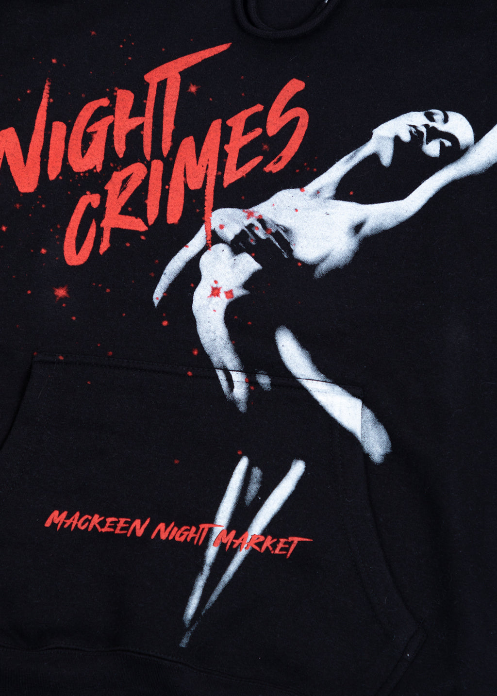NIGHT CRIMES BLACK HOODIE