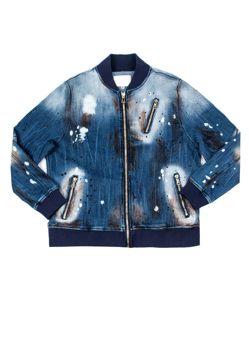 PAX DENIM BIKER JACKET