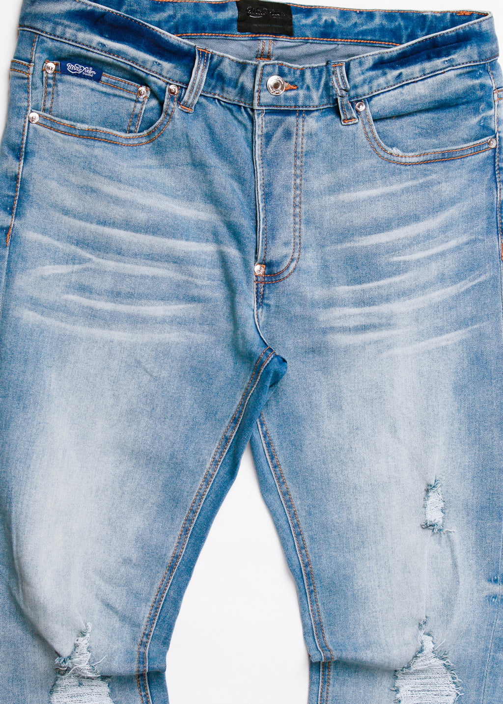 MACK DENIM PANT MED BLUE