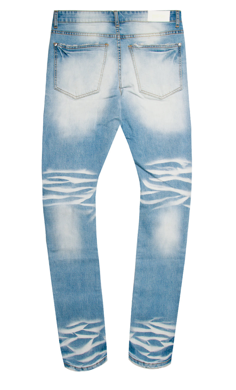 ENERGY DENIM PANT LIGHT BLUE