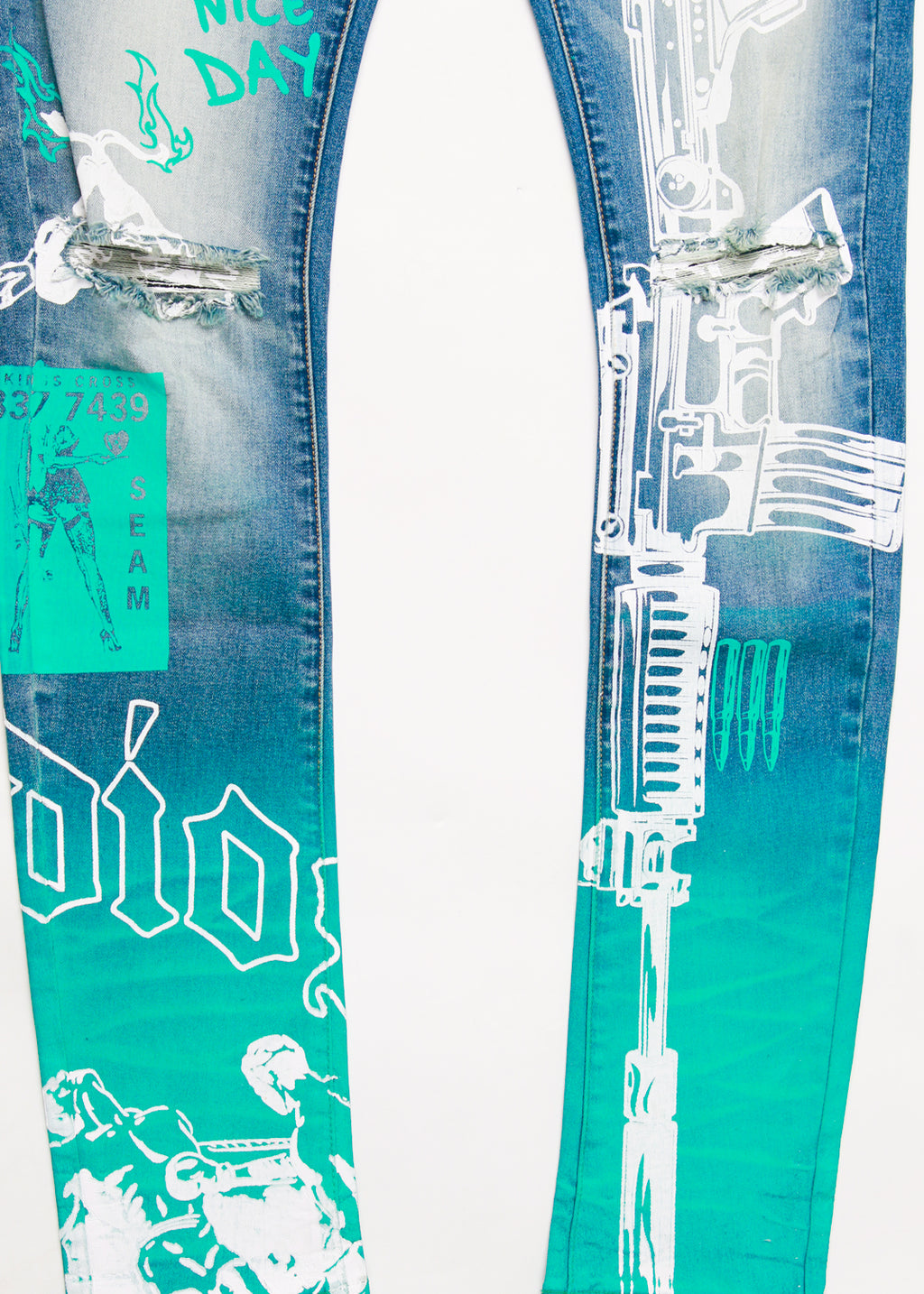 AMMO PANT DENIM BLUE
