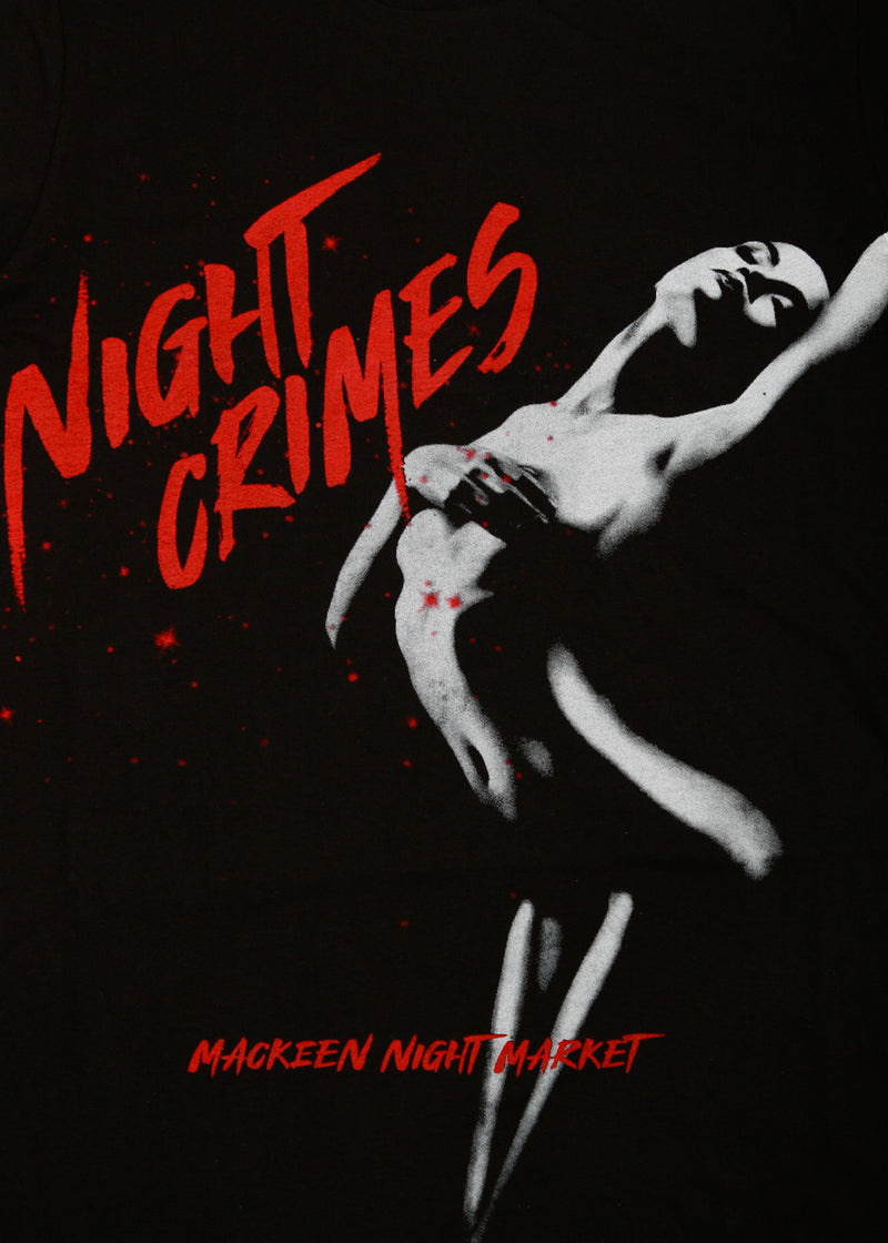 NIGHT CRIMES TEE