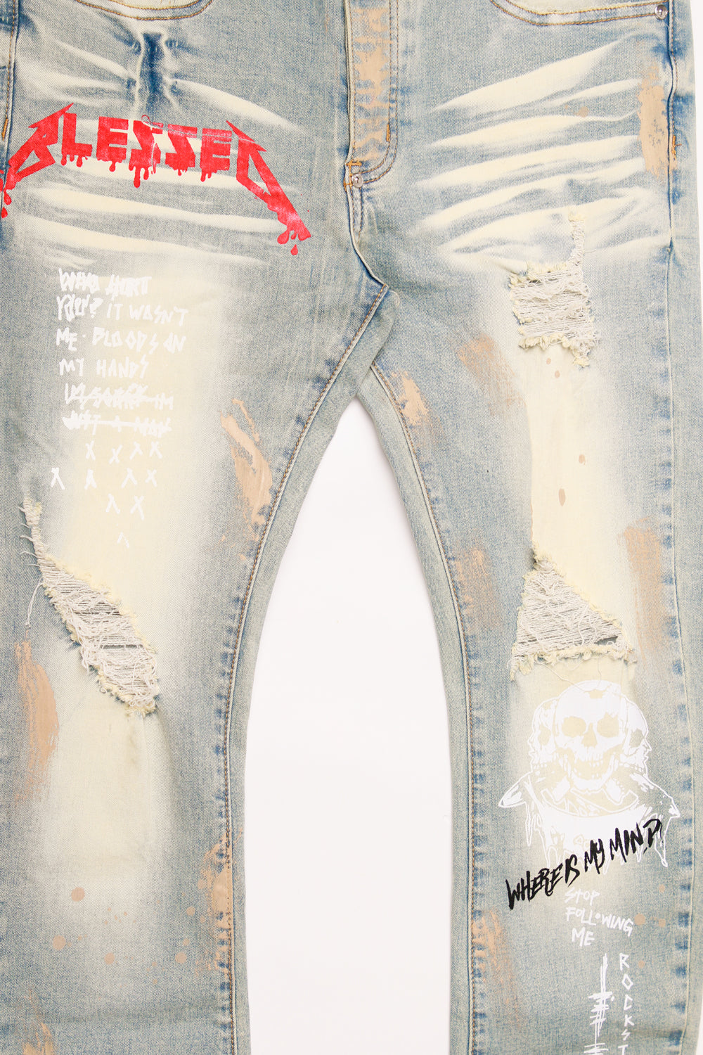 BOWIE DENIM PANT LIGHT BLUE