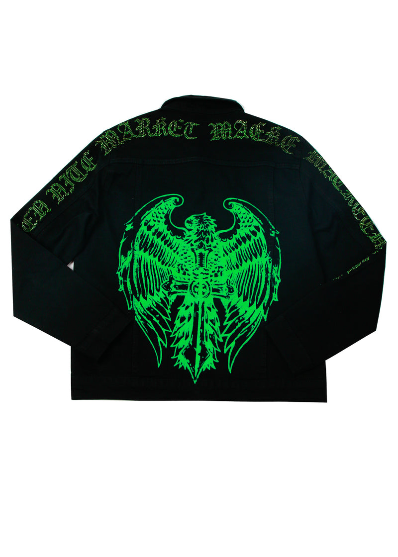 TEMPLAR CRYSTAL JACKET BLACK