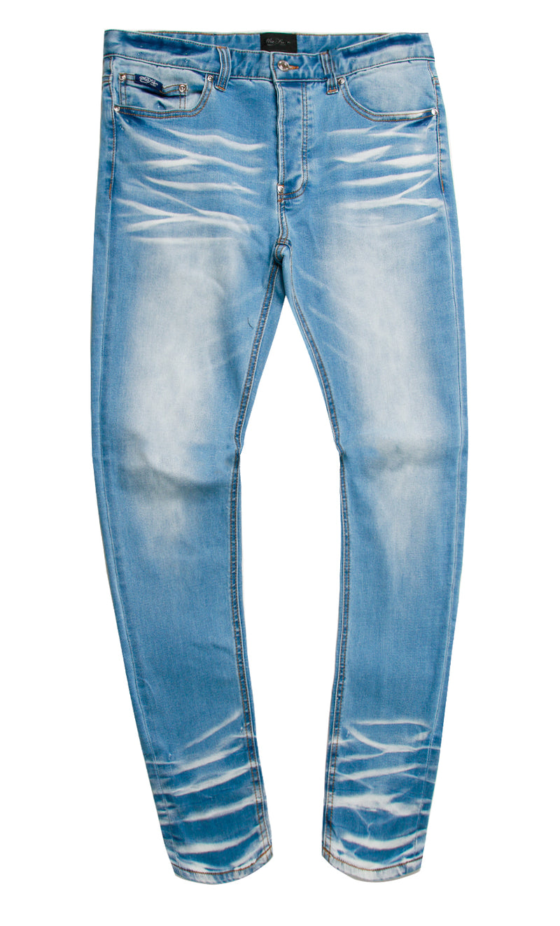 BAROQUE DENIM PANT BLUE