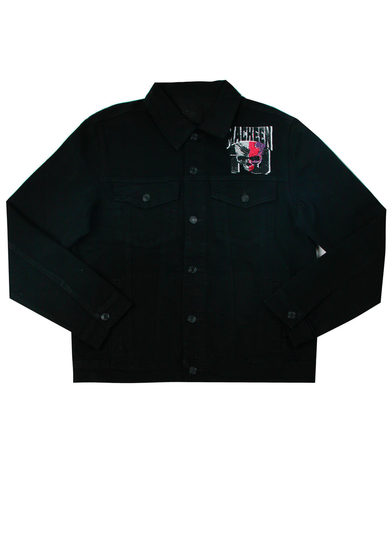 WORLDWIDE CRYSTAL JACKET BLACK