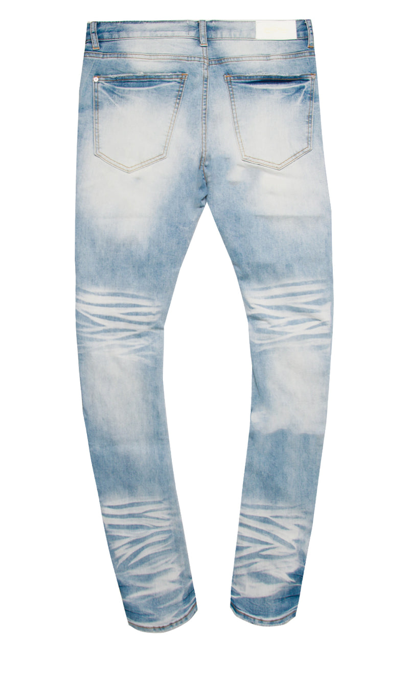 HOTROD DENIM PANT MED BLUE