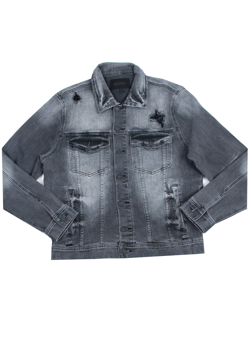 KURT 2.0 DENIM JACKET BLACK
