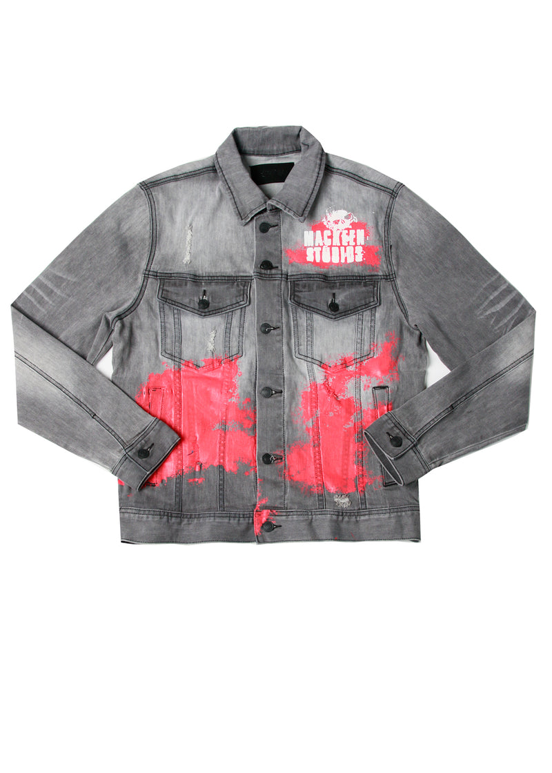 REAPER DENIM JACKET DARK