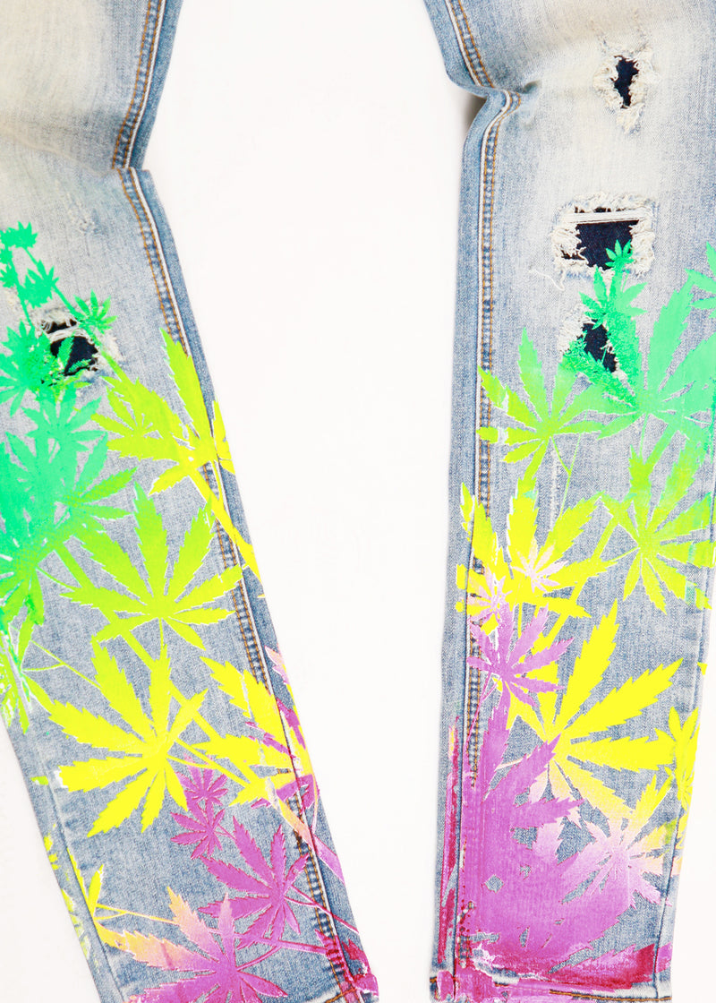 KUSH DENIM PANT LIGHT