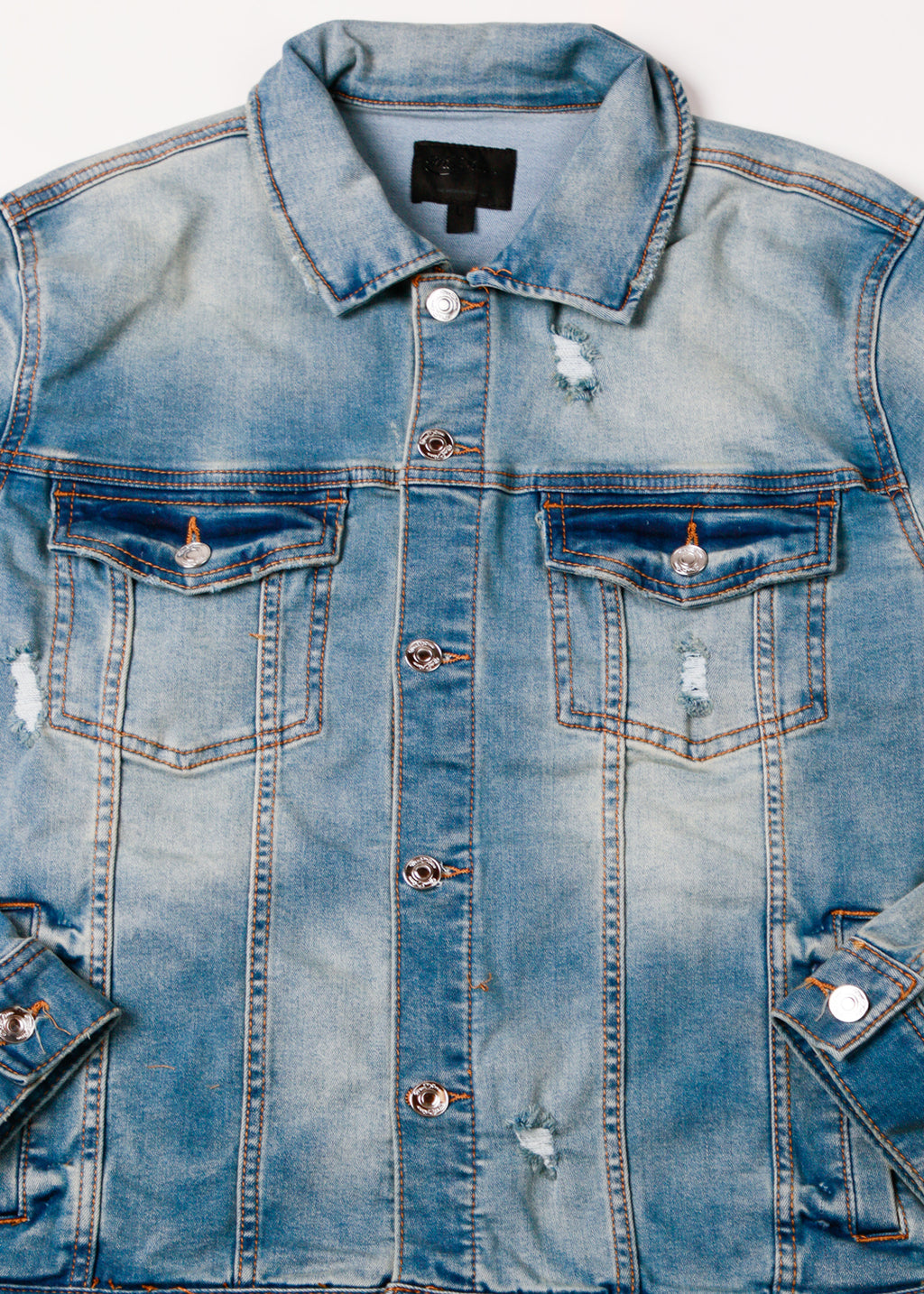 MACK DENIM JACKET MED BLUE