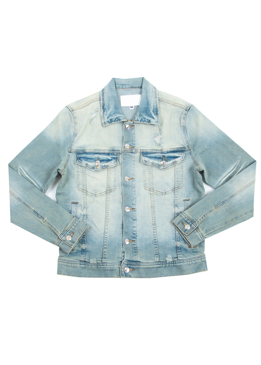 KURT 2.0 DENIM JACKET DIRTY LIGHT BLUE