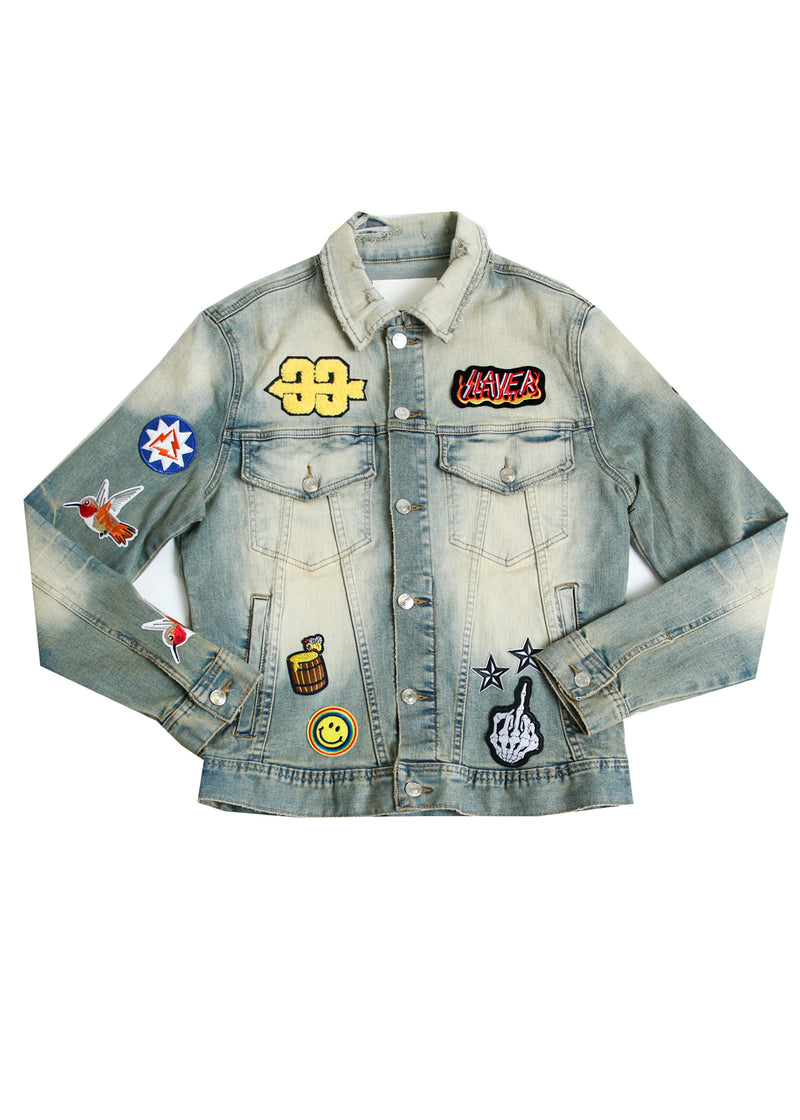 PHOENIX PATCH DENIM JACKET