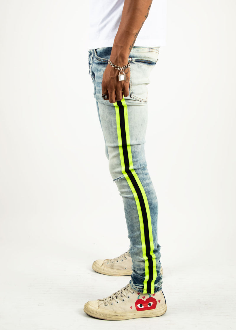 WILLI TAPED JEAN YELLOW