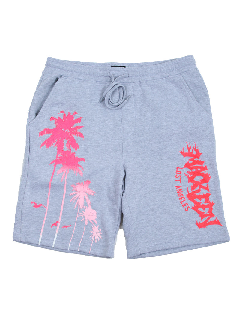 PALMS SHORT HEATHER GREY