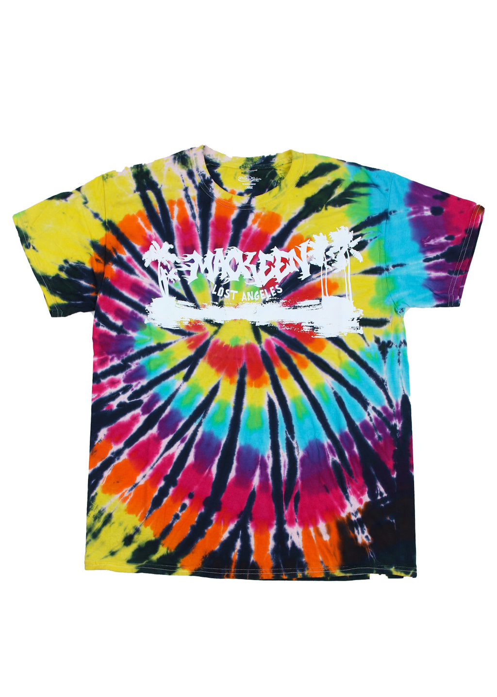 PALMS TIE DYE TEE MULTI COLOR