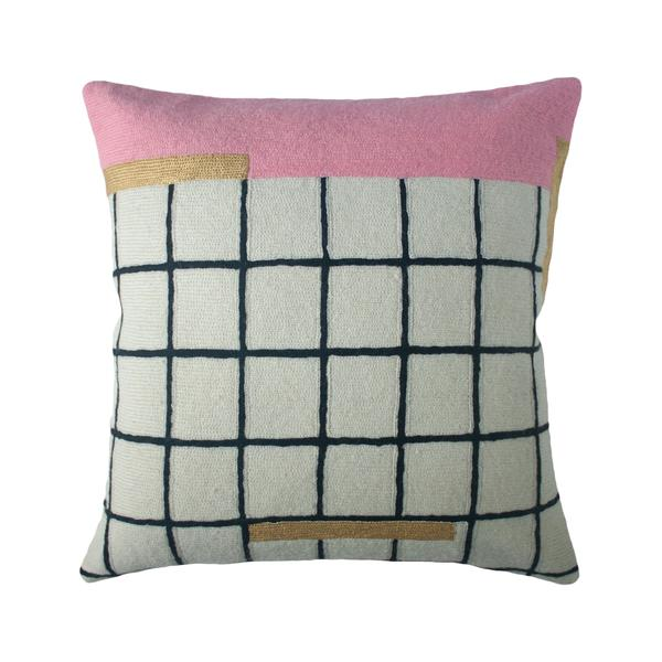 Whitney Grid Pillow