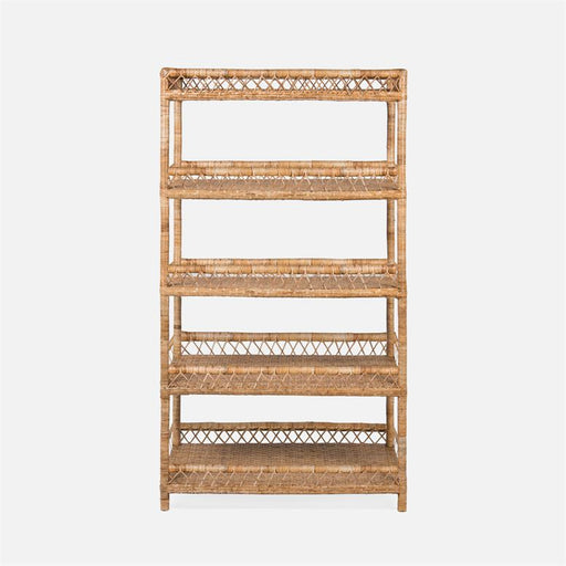 Elliot Rattan Bookcase