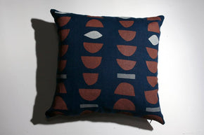 Stacks Block Print Pillow