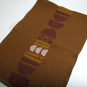 Totem Block Print Tea Towel