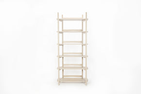Mora White Oak Bookcase