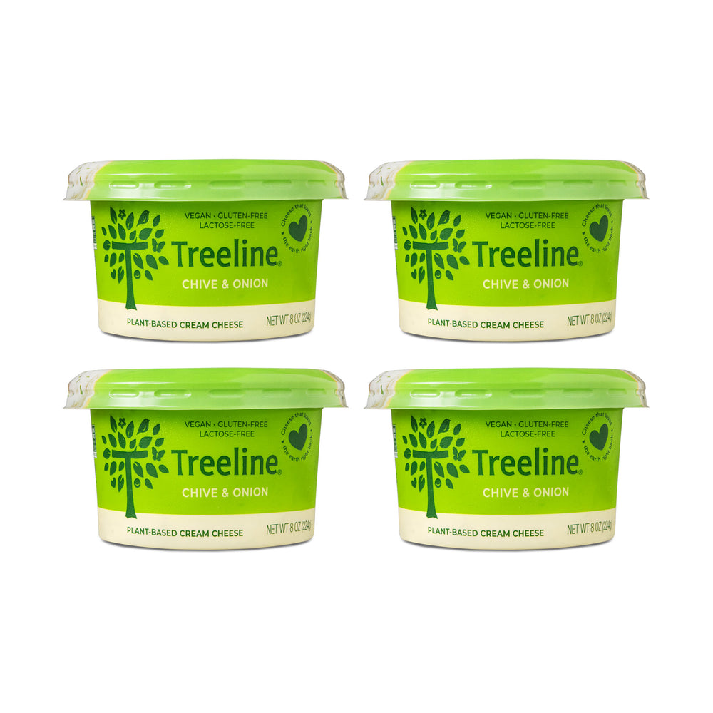 Chive & Onion Cream Cheese - 4 Pack