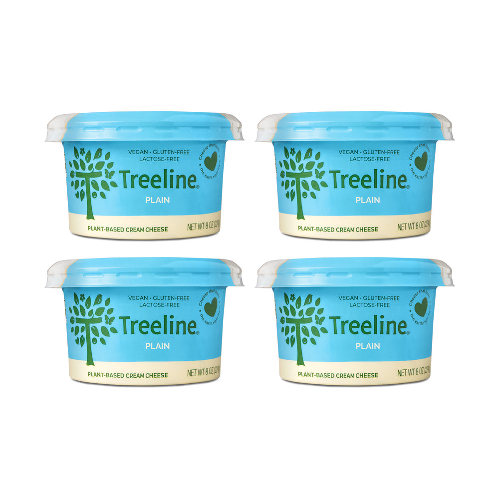 Plain Cream Cheese - 4 Pack