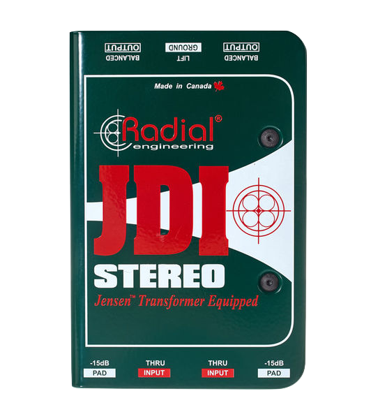 Radial Engineering J DI Premium Passive Stereo DI box