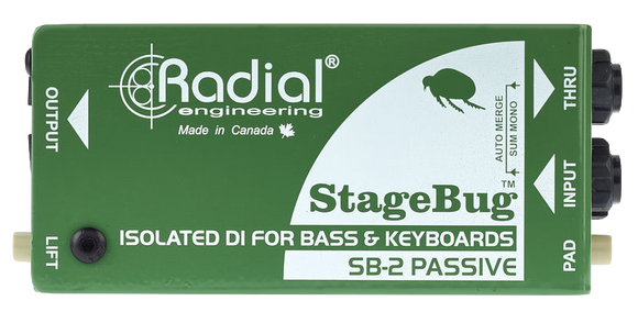 Radial Engineering SB-2 Passive Mono DI box