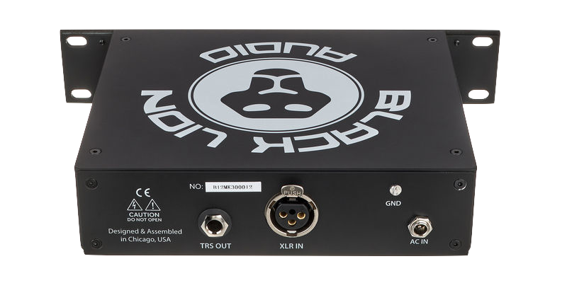 Black Lion Audio B12A MKIII Half-Rack American-Styled Preamp