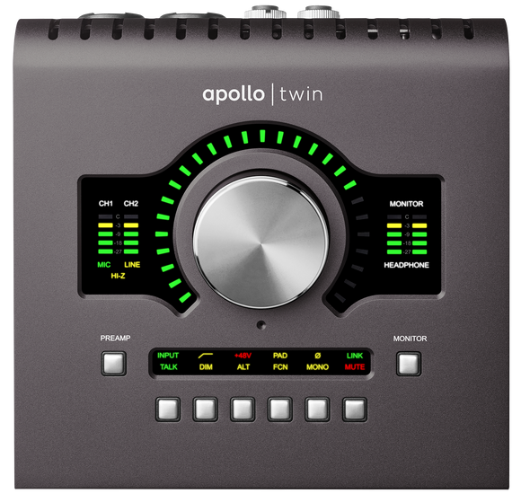 Universal Audio Apollo Twin Quad mkII