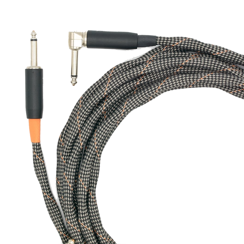 VOVOX sonorus protect A Instrument Cable 350cm angled TS-TS