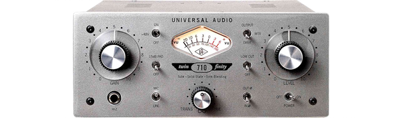 Universal Audio 710Twin-Finity Tone Blending mic preamplifier