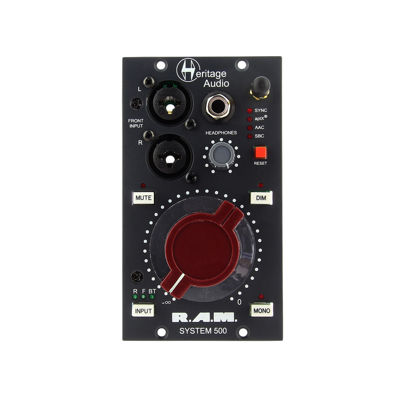 Heritage Audio R.A.M. Sys 500 Monitor Controller 500-series