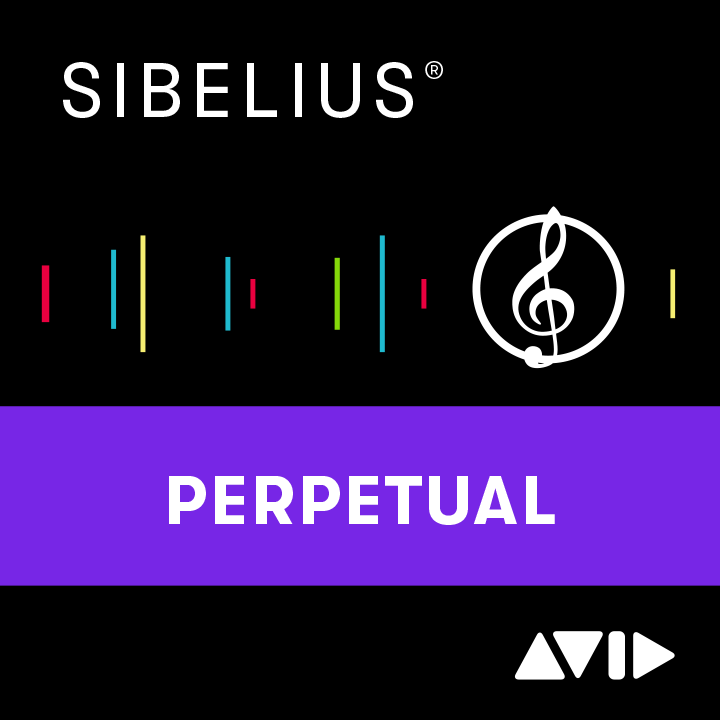 Avid | Sibelius Perpetual License NEW