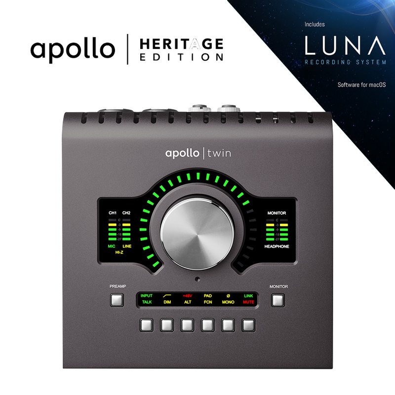 Universal Audio Apollo Twin Duo mkII - Heritage Edition
