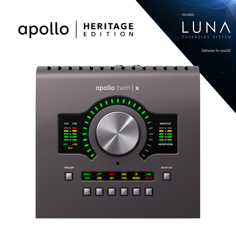 Universal Audio Apollo Twin X Quad - Heritage Edition