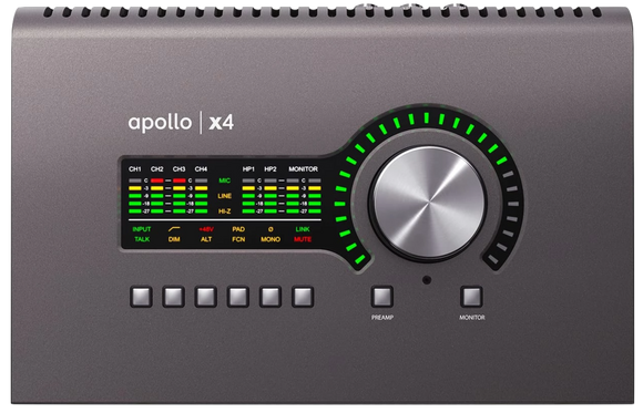 Universal Audio Apollo Twin x4 + FREE Thunderbolt 3 cable