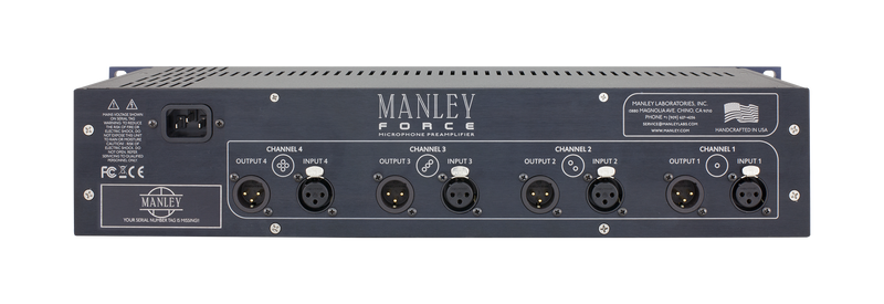 Manley Force Four Channel Mic Preamplifier