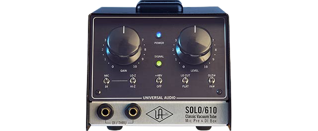 Universal Audio SOLO 610 Classic Tube preamp and DI