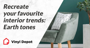 Recreate your favourite interior trends: Earth tones