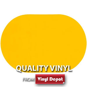 d-c-fix Oval Gloss Yellow Placemat Set of 2