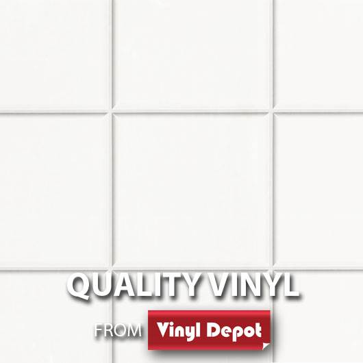 d-c-fix Self-Adhesive Vinyl Tile Vigo White 450mm/m