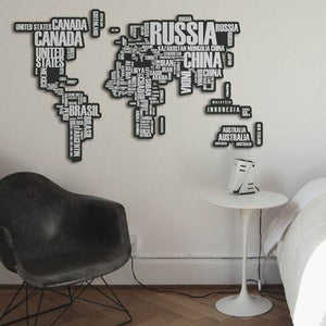d-c-fix O´Deco World Map 3D Foam Shape Wall Stickers