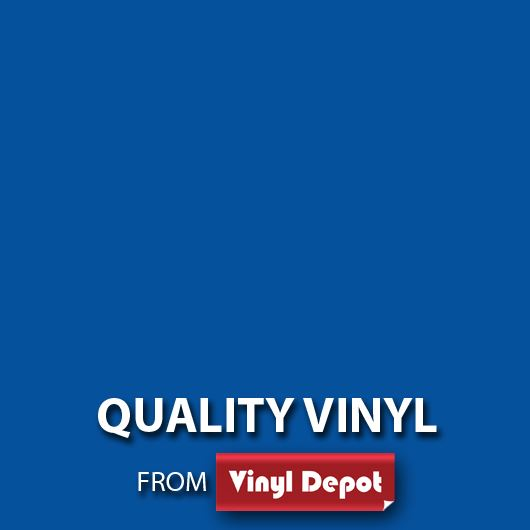 Vinyl Depot Self-Adhesive  Matt Blue 675mm/m