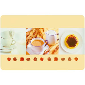 d-c-fix Rectangle Beige Coffee Style Placemat Set of 2